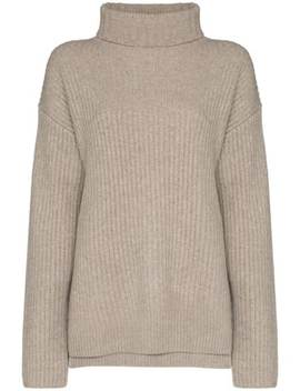 Cashmere Luxe High Neck Jumper by Joseph