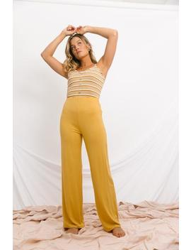Rescue Me Mustard Pants by Luca And Grae