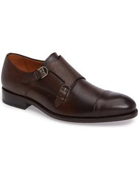 G109 Double Monk Strap Shoe by Impronta By Mezlan