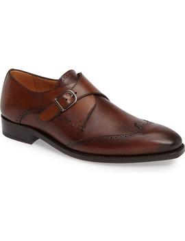 G121 Wingtip Monk Strap Shoe by Impronta By Mezlan