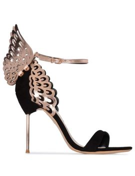 Evangeline 100mm Butterfly Ankle Sandals by Sophia Webster