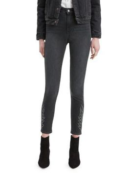 721 Writing's On The Wall High Rise Skinny Ankle Jeans by Levi's