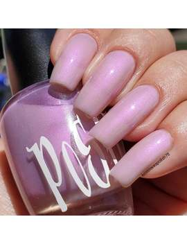 """Unique """"Freesia"""" Solar Color Changing White Opal   Lavender Nail Polish Sun Uv Photochromic Full Size 15ml Bottle Gift by Etsy"""