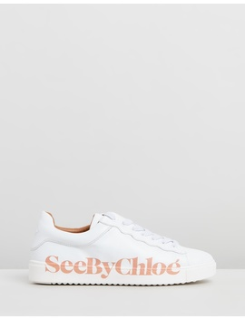 Logo Sneakers by See By Chloé