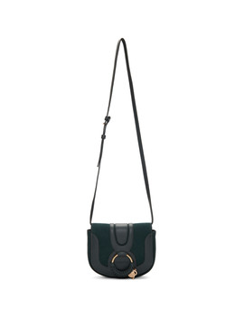 Green & Navy Mini Hana Bag by See By ChloÉ