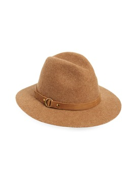 Harness Tall Crown Wool Fedora by Frye