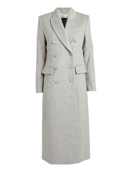 Helmond Dickey Double Breasted Coat by Veronica Beard