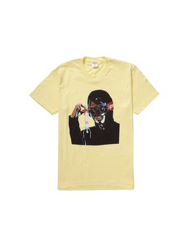Supreme Creeper Tee Pale Yellow by Stock X
