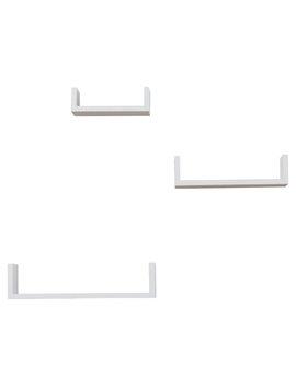 Wickes 3 Piece Floating Shelf Set by Allmodern
