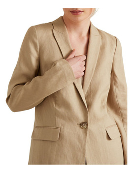 Linen Blazer by Seed Heritage
