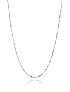 Alternating Link Necklace by Simons