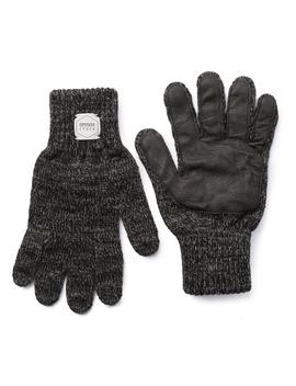Full Finger Melange Wool Glove by Upstate Stock