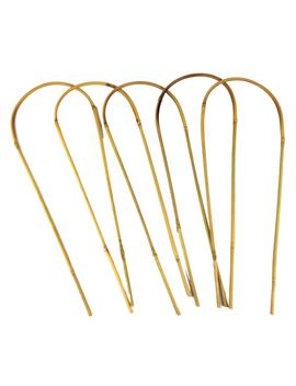 16 In. Bamboo U Trellis Hoop Stakes (5 Pack) by Bamboo Stakes
