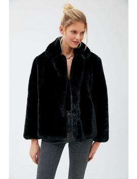 Apparis Manon Oversized Faux Fur Coat by Apparis