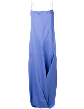Nahil Draped Dress by Jacquemus