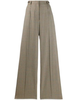 Dogtooth Palazzo Trousers by Rokh