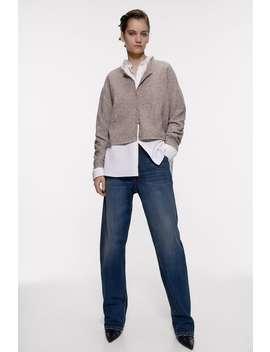 Wool Blend Jacket by Zara