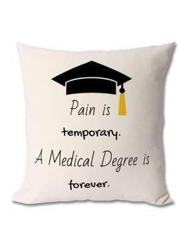 Med School Motivation Cushion, Medical Student Gift,Medical Student,Future Doctor,Medical School Gift,Med Student Gift,Medicine Student by Etsy