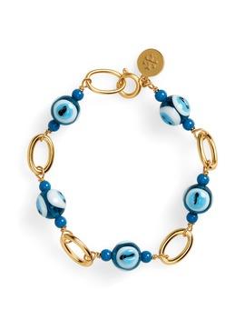 Evil Eye Bracelet by Tory Burch