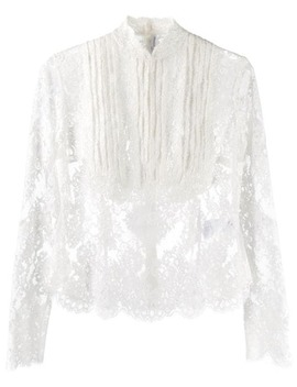 Victorian Lace Blouse by Ermanno Scervino