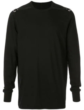 Long Sleeved Level Sweatshirt by Rick Owens