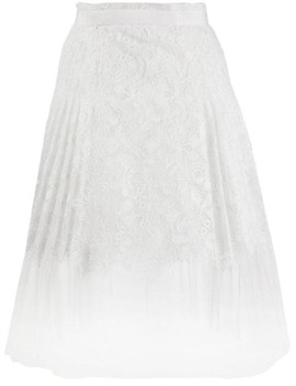 Embroidered A Line Skirt by Ermanno Scervino