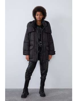 Cappotto Water Repellent Sorona ® Dupont™ by Zara