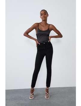 Vintage Hi Rise Skinny Jeans by Zara