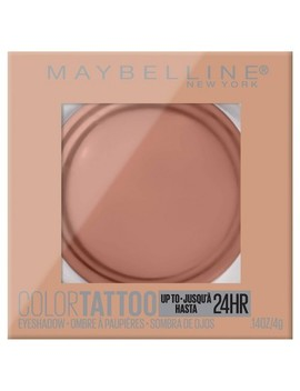 "<Span><Span>Maybelline Color Tattoo Up To 24 Hr Longwear</Span><Br><Span>Cream Eyeshadow Makeup   0.14oz</Span></Span><Span Style=""Position: Fixed; Visibility: Hidden; Top: 0px; Left: 0px;"">…</Span> by 0.14oz…"