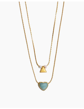 Heart Rock Necklace Set by Madewell