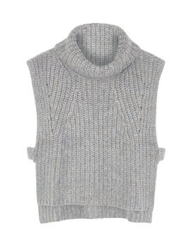 Grey Sleeveless Wool Blend Jumper by Isabel Marant Étoile