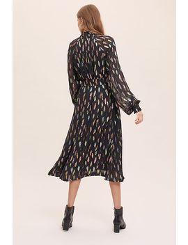 Mellorie Lurex Midi Dress by Kirei