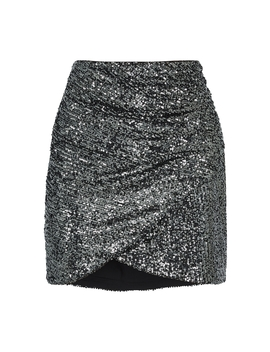 Fidela Sequin Mini Skirt by Alice + Olivia