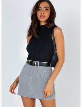 Castillo Mini Skirt by Princess Polly