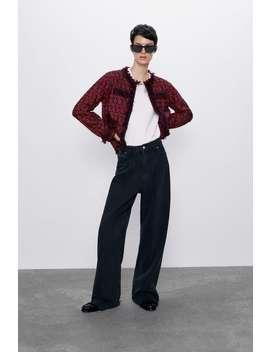 Short Tweed Jacket Tweedwoman by Zara