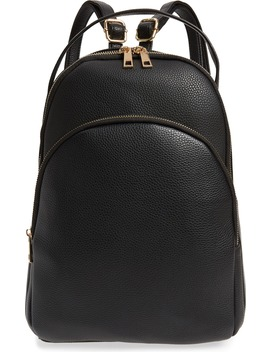 Mini Faux Leather Backpack by Bp.