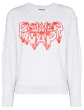 Power Nap Print Sweatshirt by Ashley Williams