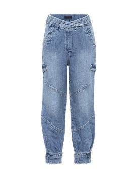 Dallas High Rise Cargo Jeans by Rta