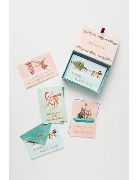 Holiday Hound Cards Box Set by Anthropologie