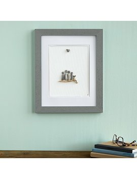 Family Pebble Portrait by Uncommon Goods