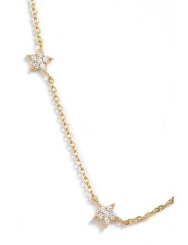 Pavé Star Choker Necklace by Argento Vivo
