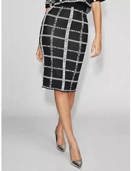 Graphic Sweater Skirt   Gabrielle Union Collection by New York & Company