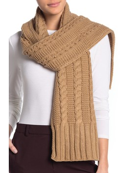 Cable Knit Muffler by Michael Michael Kors