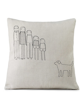 Personalized Family Pillow by Shelly Klein