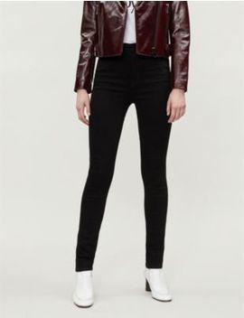 "Carolina 32"" High Rise Skinny Jeans by J Brand"