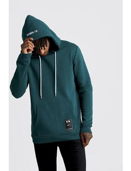 Over The Head Hoodie With Bhm19 Tab by Boohoo