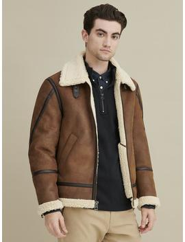 Faux Shearling Coat by Wilsons Leather