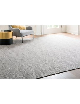 Marcelo Hand Tufted Wool/Cotton Ivory Area Rug by Allmodern