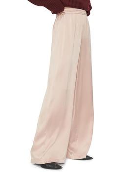 Romy Wide Leg Silk Pants by Anine Bing