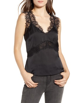 Lace Trim Camisole Top by Chelsea28